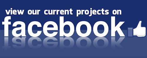 View our current projects on Facebook
