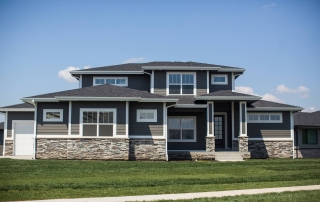 family home in Waukee built by SJC Builders